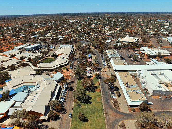 THE ROXBY DOWNS PROJECT